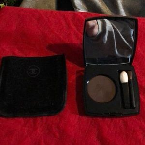Chanel 2.2g 24 chocolate brown longwear eyeshadow